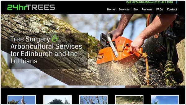 24hr Tree Surgeons Edinburgh
