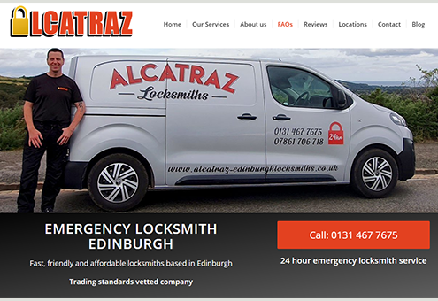 Alcatraz Edinburgh Locksmiths