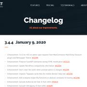 WP Rocket Changelog